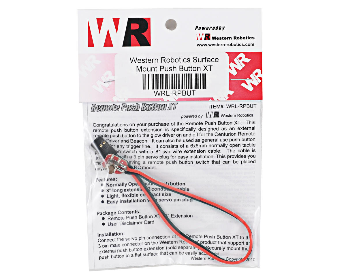 Western Robotics Remote Push Button XT