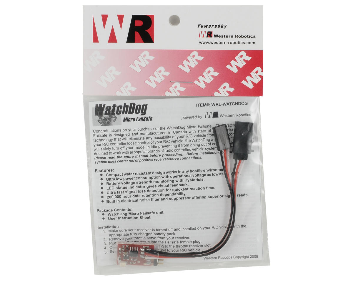 Western Robotics WatchDog Micro Fail-Safe
