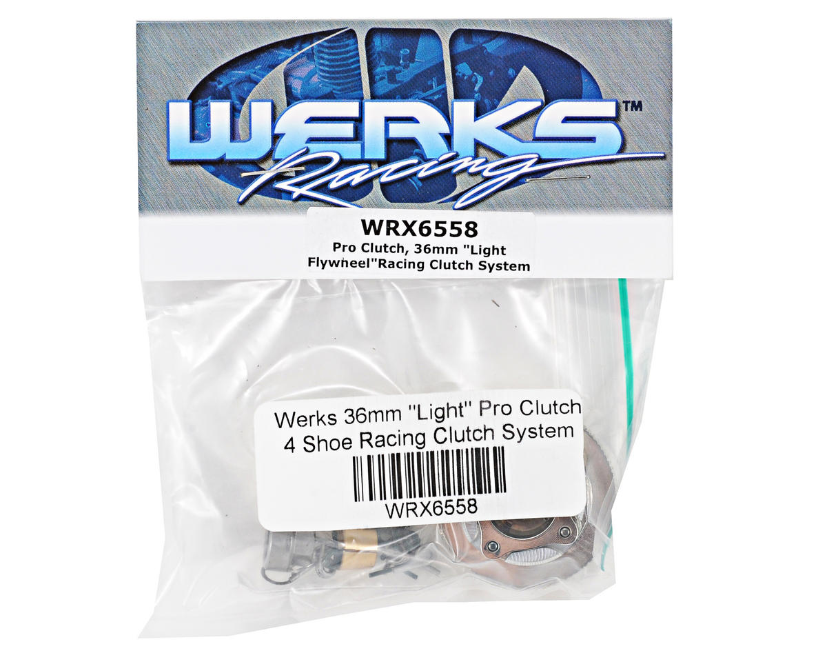 "Werks Racing 36mm ""Light"" Pro Clutch 4 Shoe Racing Clutch System (Durango)"