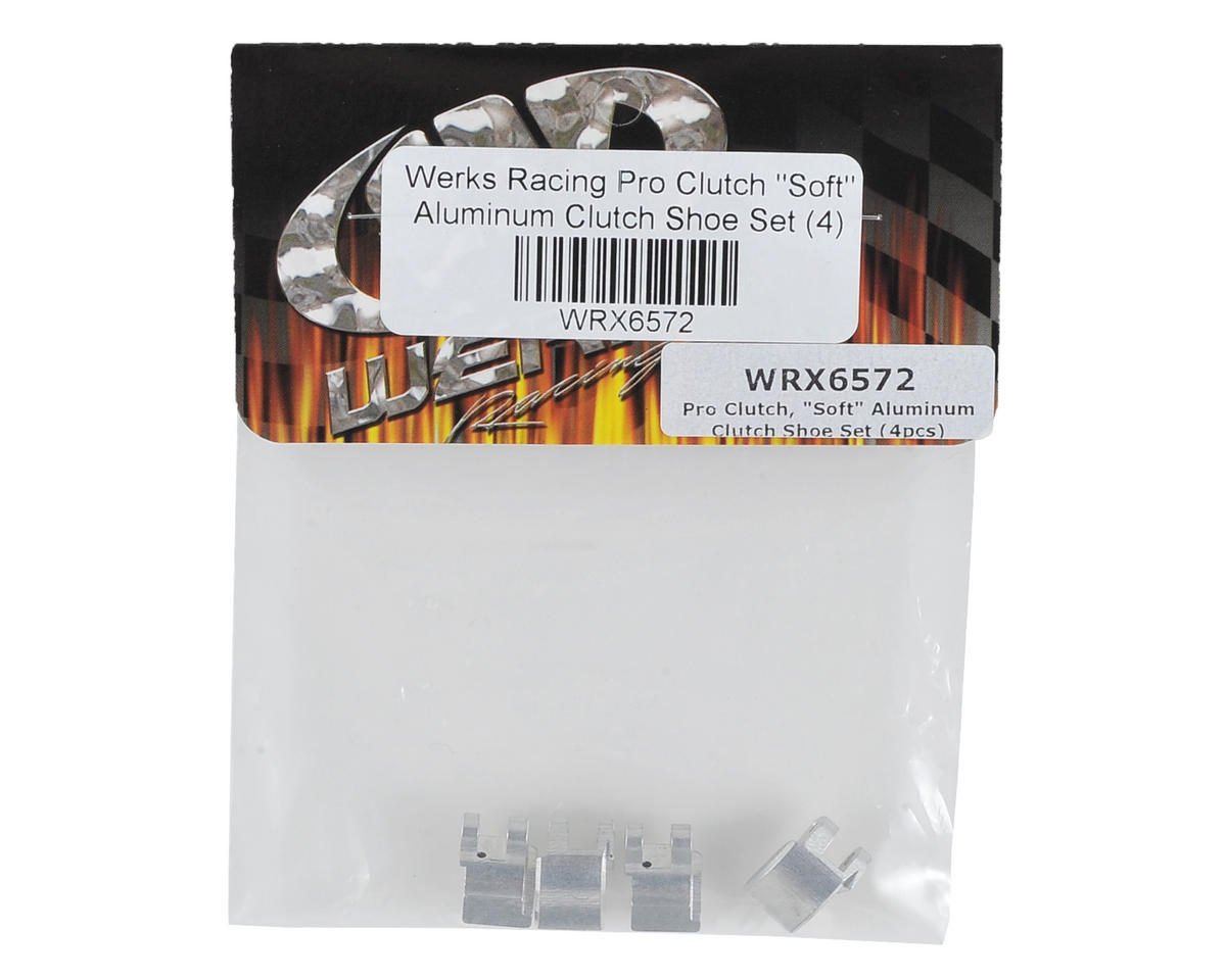 "Werks Pro Clutch ""Soft"" Aluminum Clutch Shoe Set (4)"