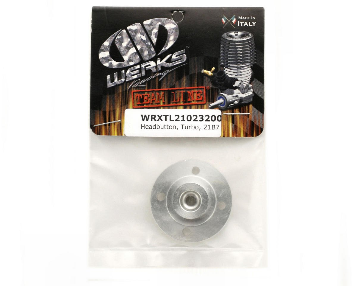 Werks Racing Turbo Plug Head Button .21 Buggy