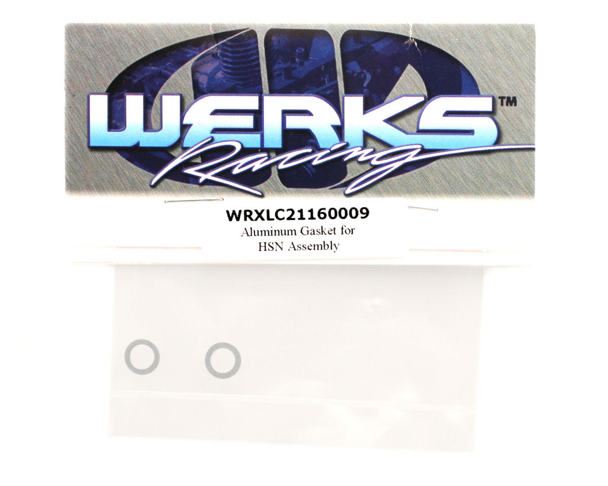 Werks Racing Aluminum High Speed Needle Housing Gasket