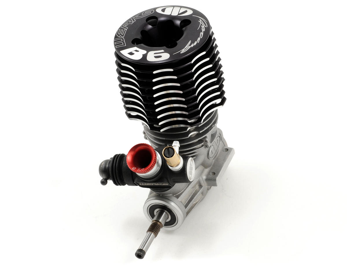 Werks Racing Team Line B6 .21 Off-Road Competition Buggy Engine (Turbo)