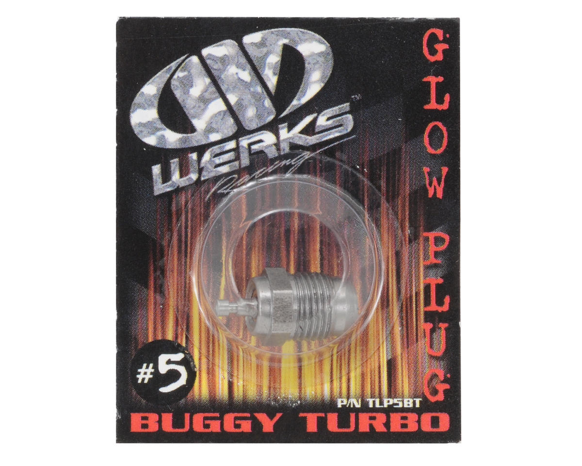 Werks Racing .21 B6 #5 Turbo Glow Plug (Hot) (Off-Road)