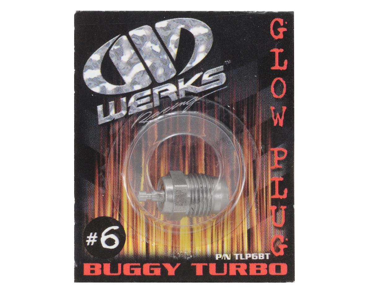 Werks Racing .21 B6 #6 Turbo Glow Plug (Medium) (Off-Road)