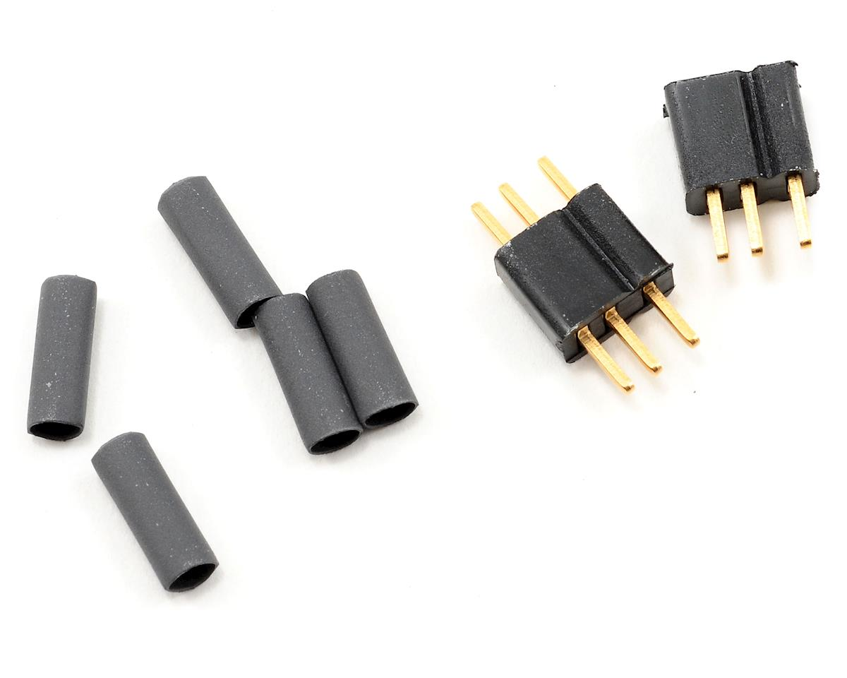 Image 1 for Deans Micro 3 Pin Connector Plugs (1 pair)