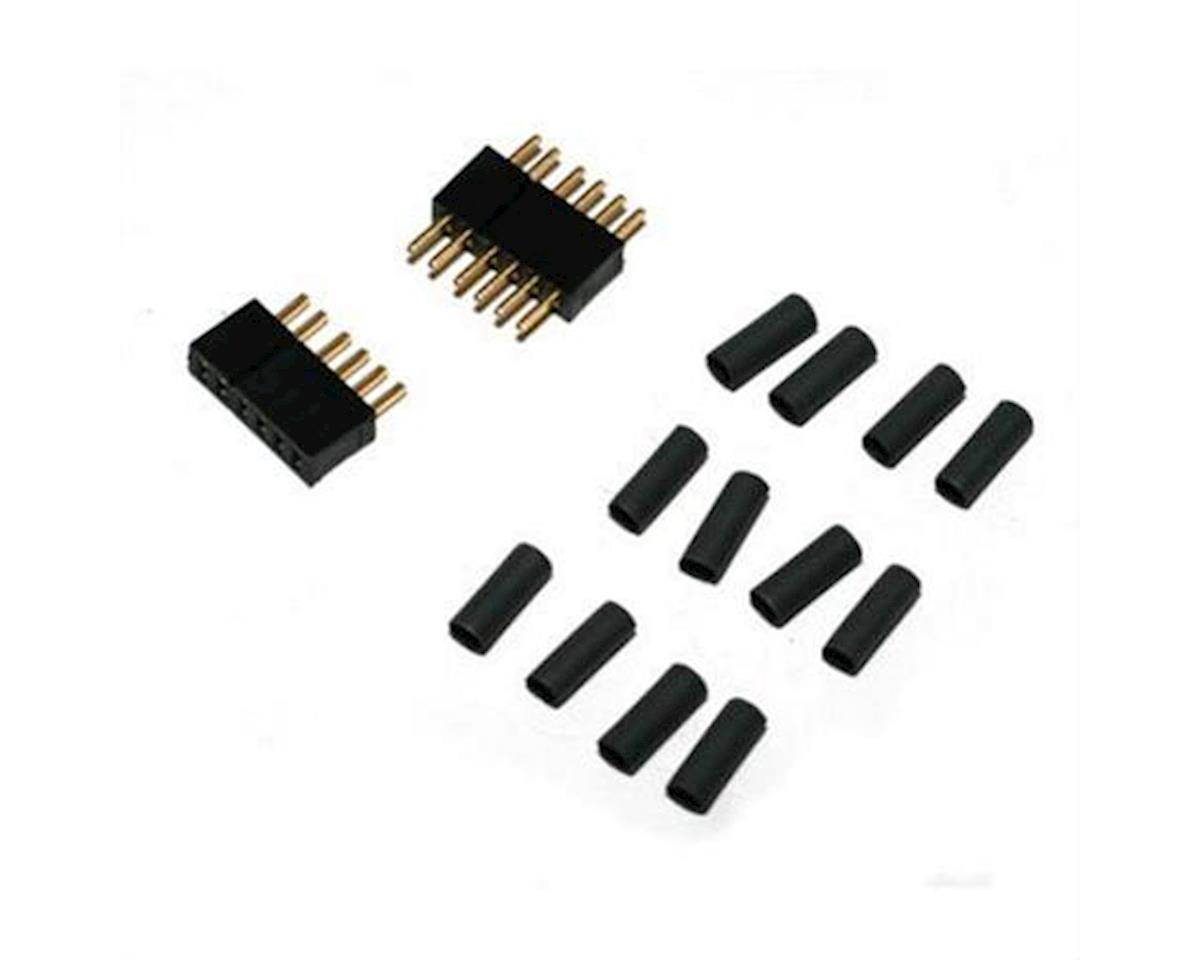 6 Pin Pair w/ Shrink Tubing