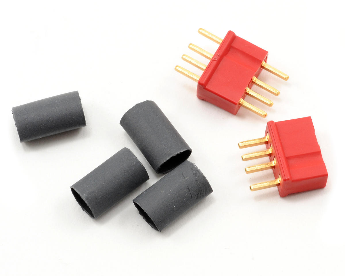 Micro Plug 4R Red Polarized Connector