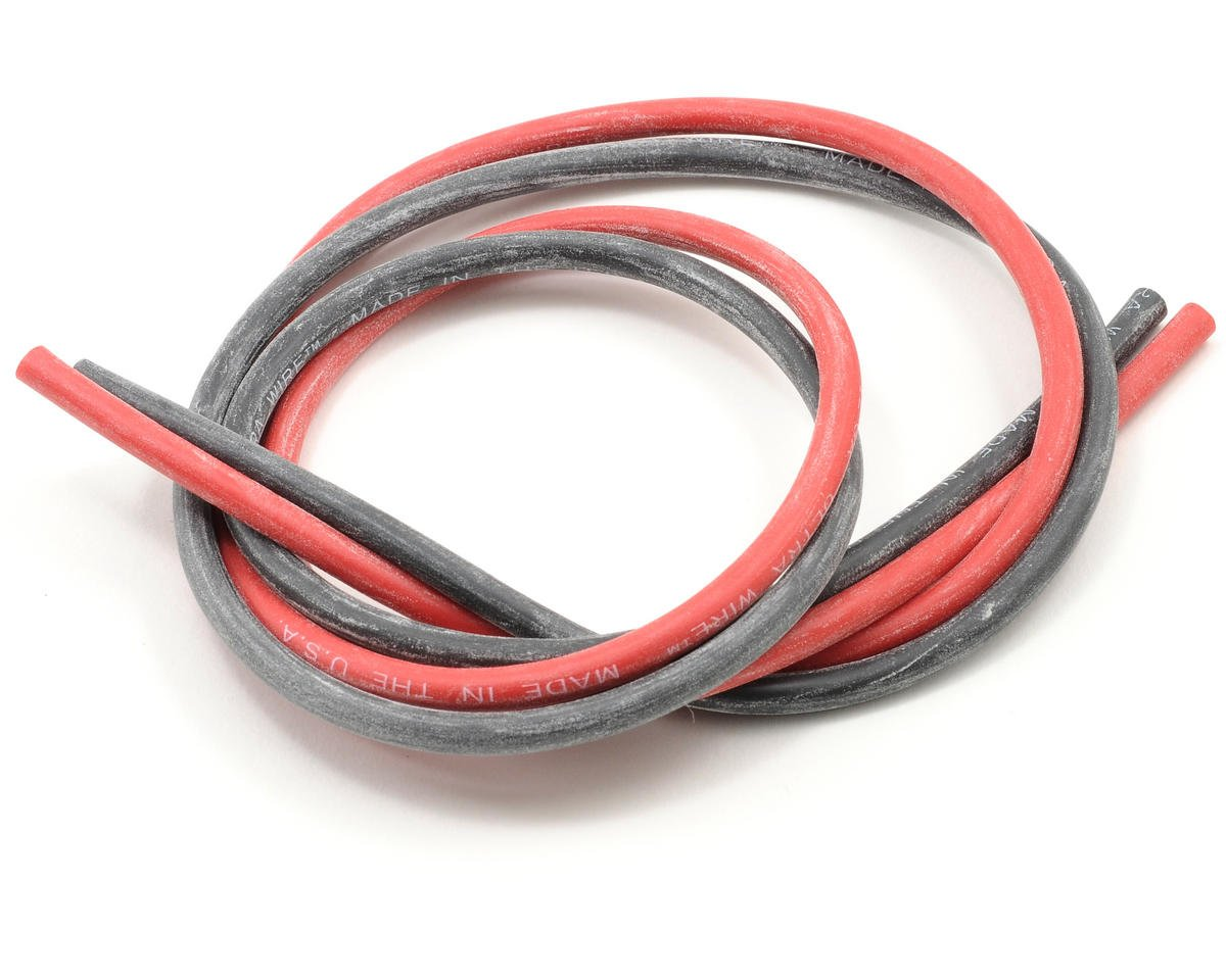 Deans Ultra Wire 12 Gauge - 2' each (Red/Black)