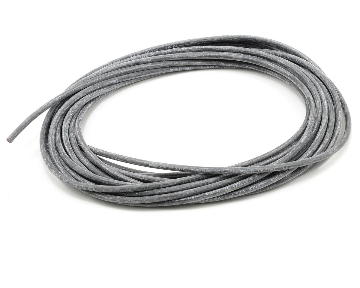 Ultra Wire 12 Gauge - 25' (Black )