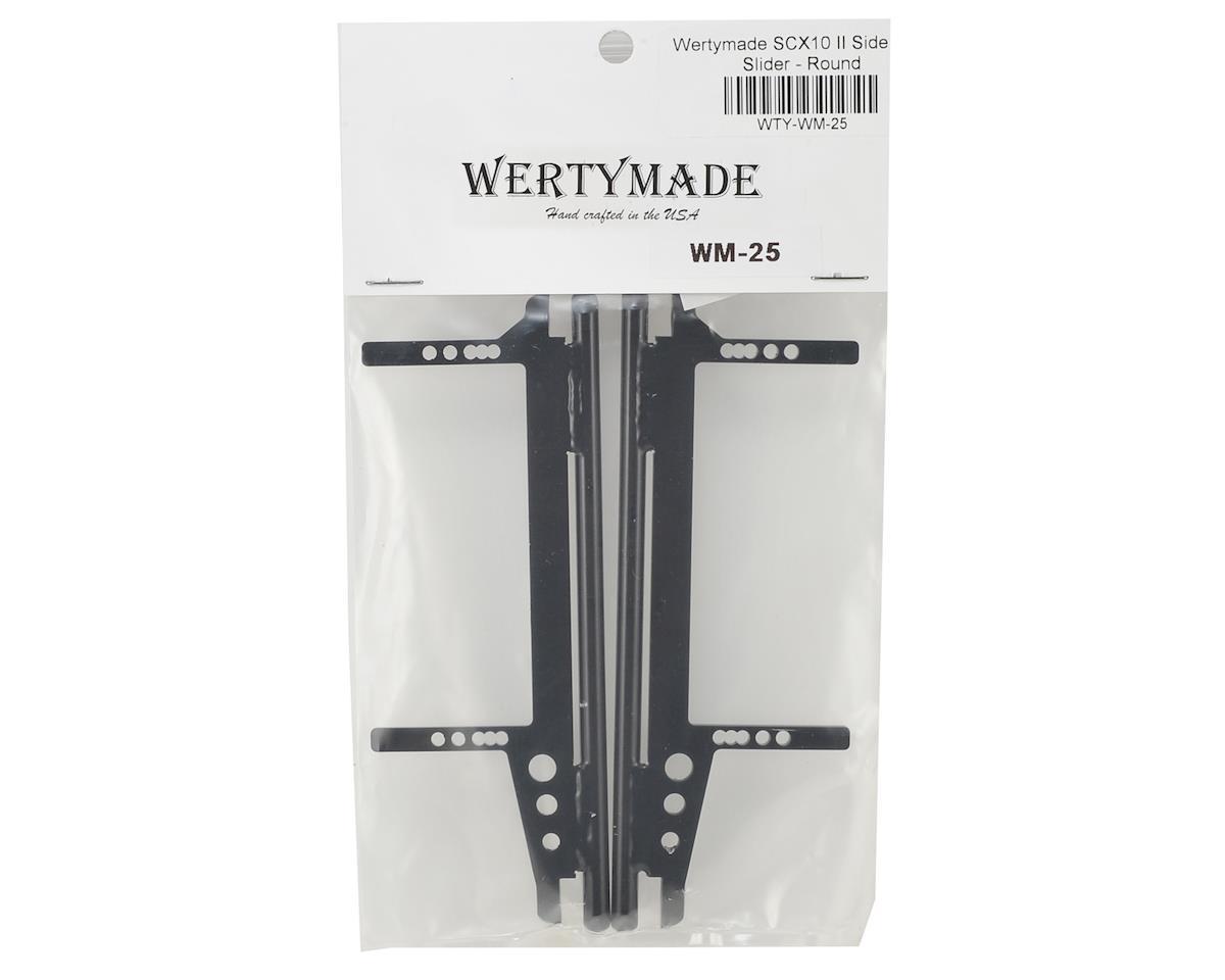 Wertymade SCX10 II Round Tube Sliders