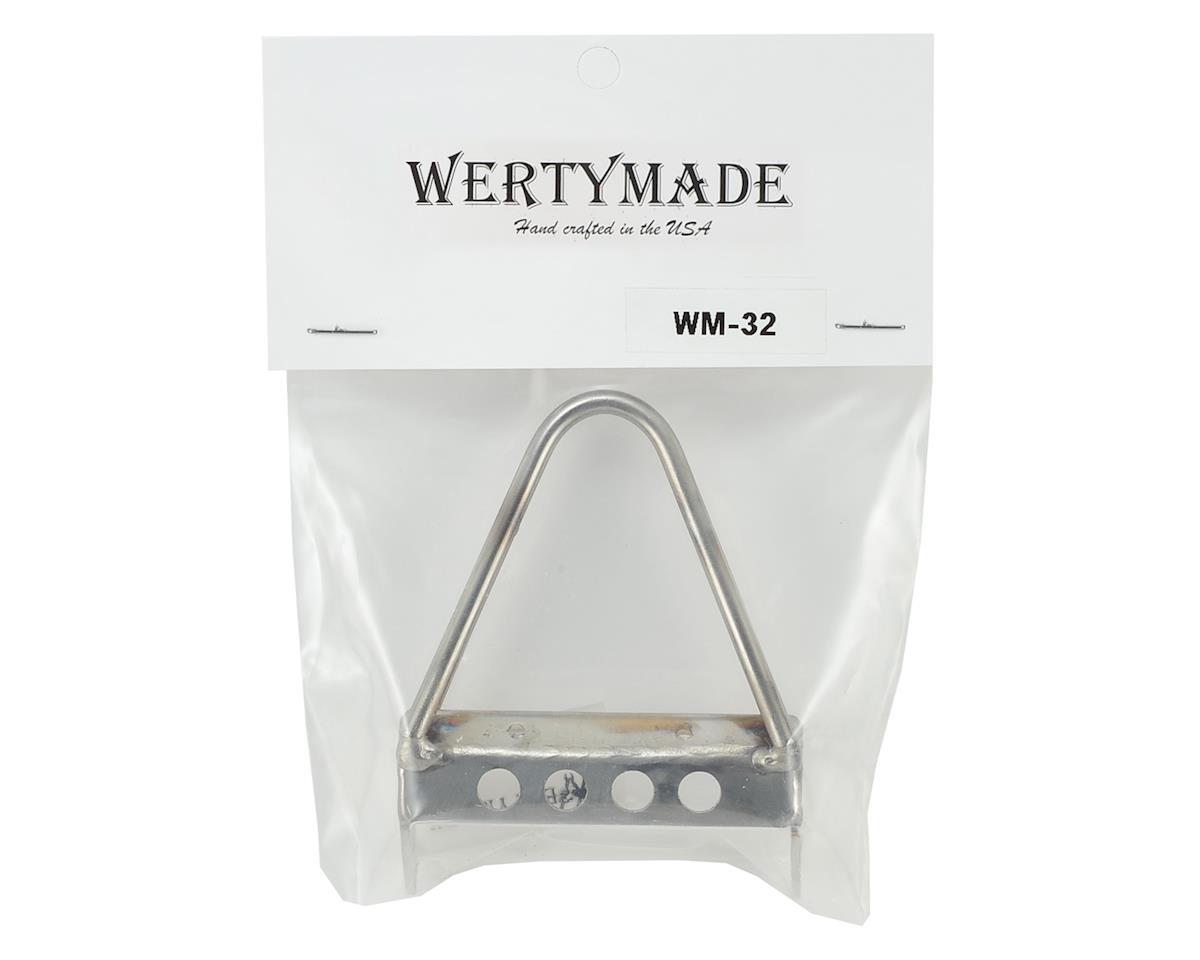 Wertymade SCX10 II Stainless Steel Stinger Bumper