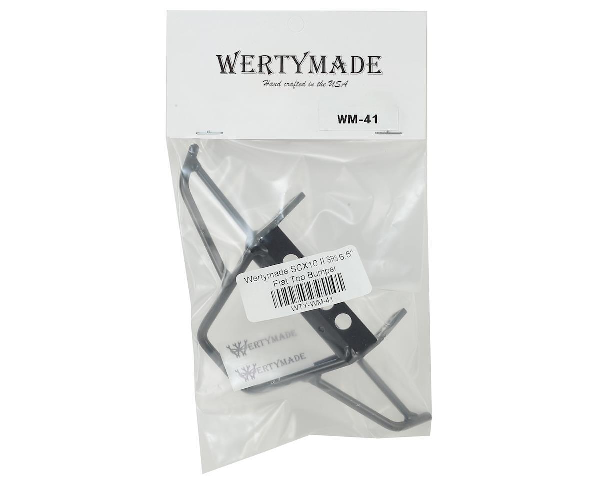 """Wertymade SCX10 II SR5 6.5"""" Flat Top Bumper"""