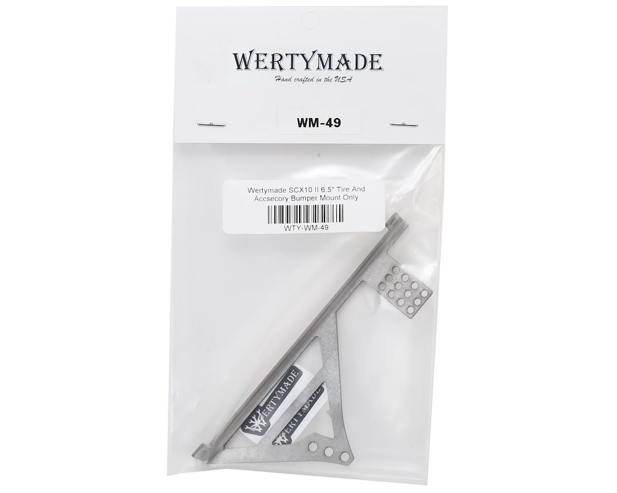 "Wertymade SCX10 II 6.5"" Tire & Accessory Mount"
