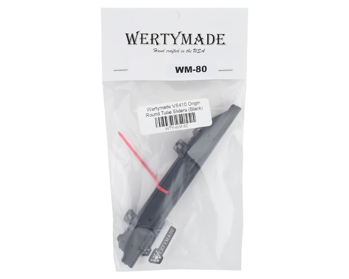 Wertymade VS410 Origin 175mm Round Tube Sliders (Black)