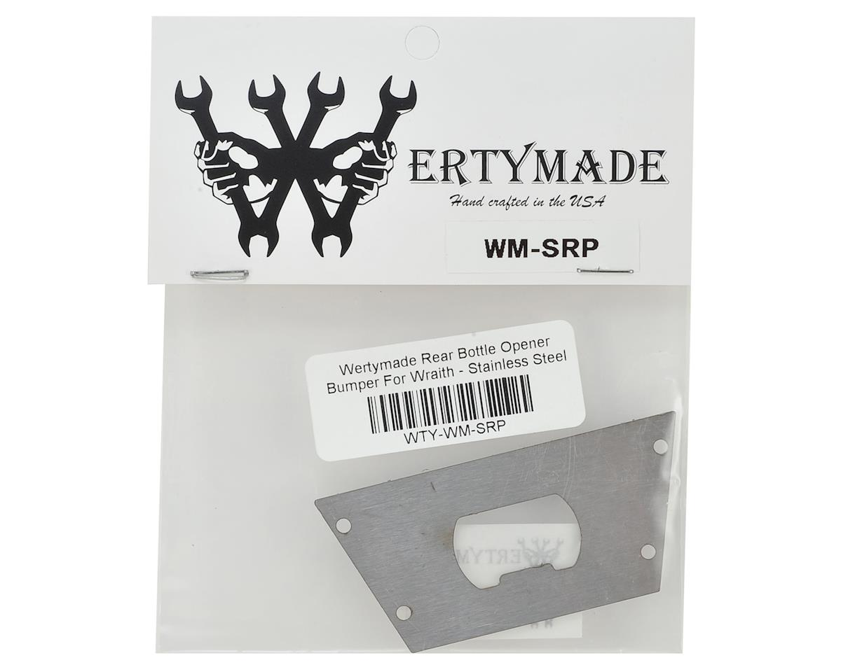 Wertymade Wraith Stainless Steel Rear Bottle Opener
