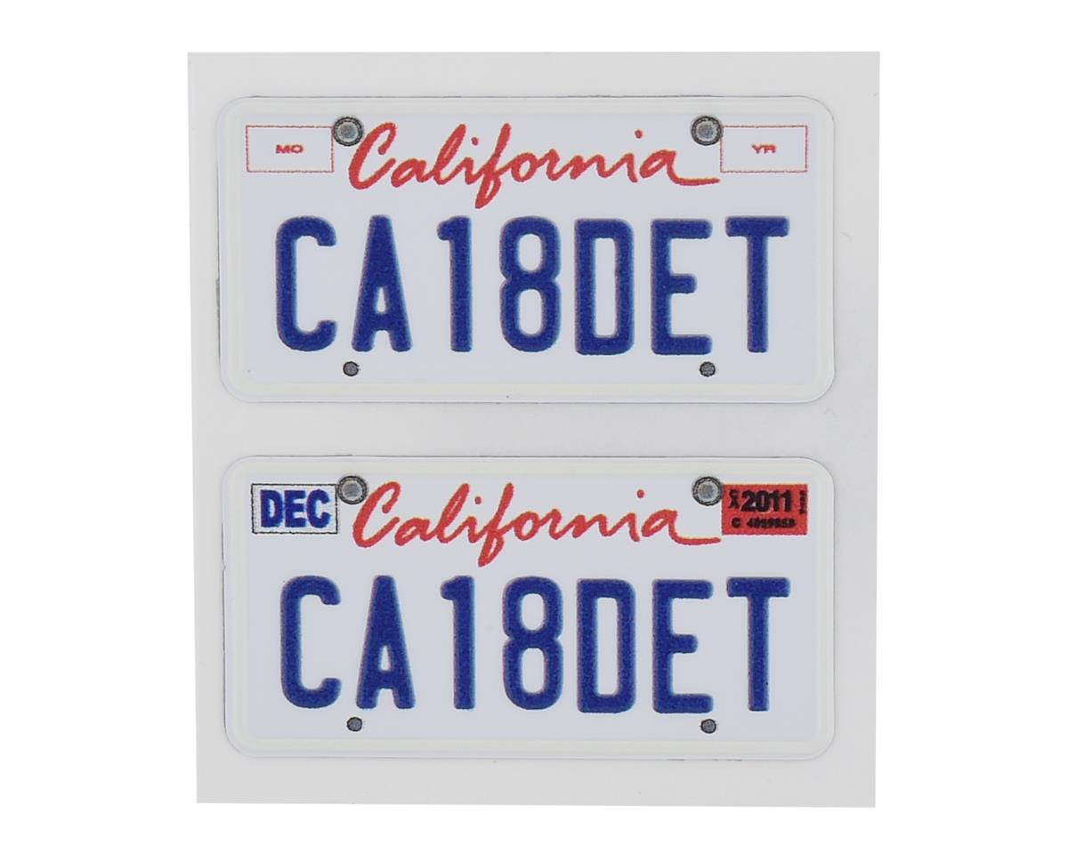 WRAP-UP NEXT REAL 3D  U.S. Licence Plate (2) (CA18DET) (11x50mm)