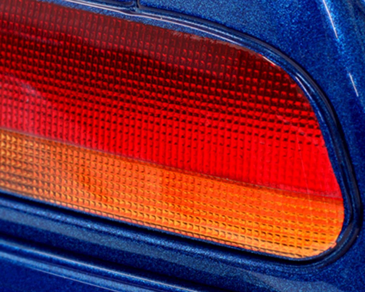 WRAP-UP NEXT REAL 3D Light Lens Decal (Orange ) (Line-Middle) (130x75mm)