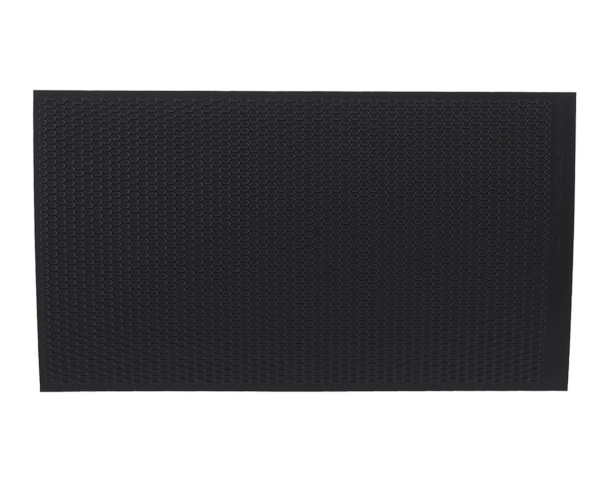 WRAP-UP NEXT REAL 3D Grill Decal (Black/Black) (Honeycomb) (130x75mm)