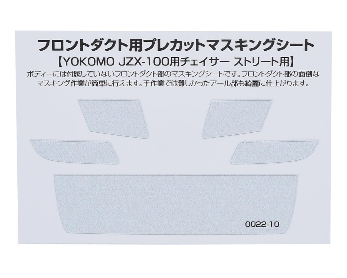WRAP-UP NEXT Precut Mask Sheet for Front Duct (Yokomo JZX-100 Chaiser Street)