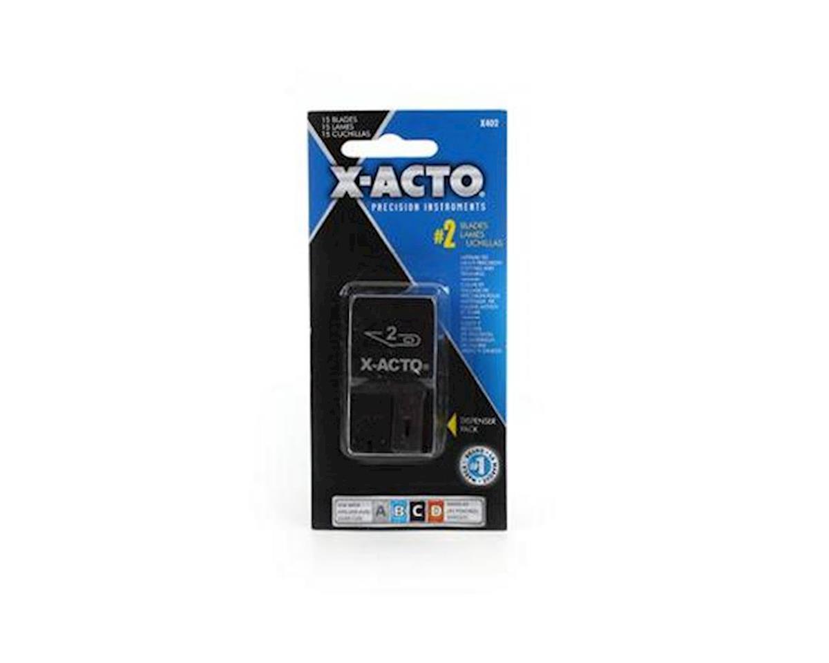 X-acto #2 Blade Dispenser (15)
