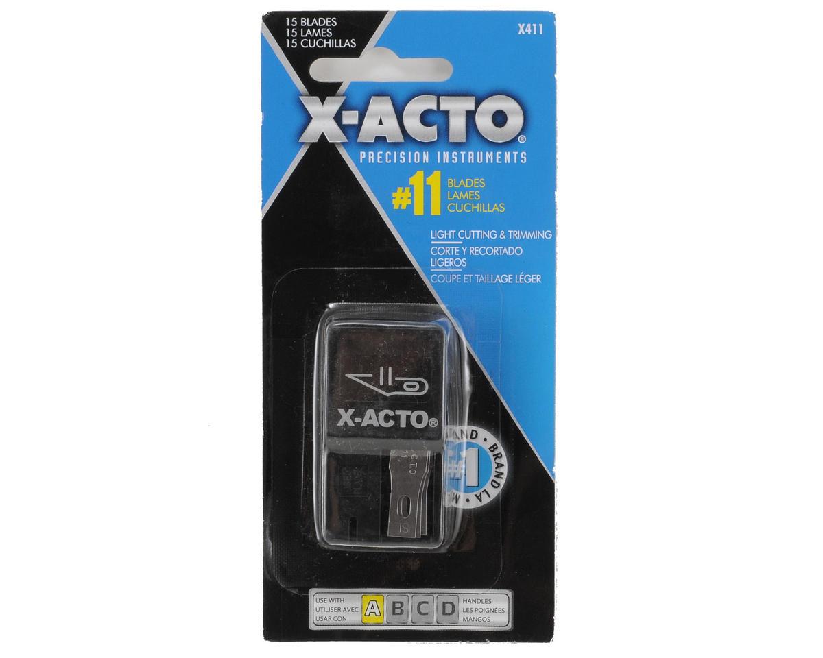 X-acto No. 11 Blade Dispenser w/Blades (15)