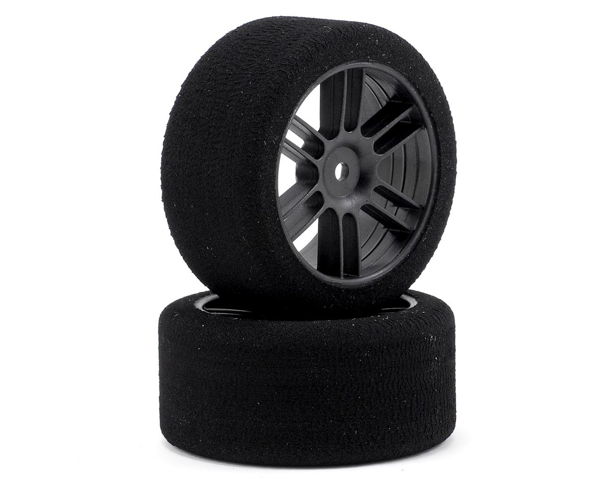"12mm Hex  30mm ""Enneti"" 1/10 Carbon Nitro Sedan Rear Tires (2) (37 Shore) by Xceed RC"