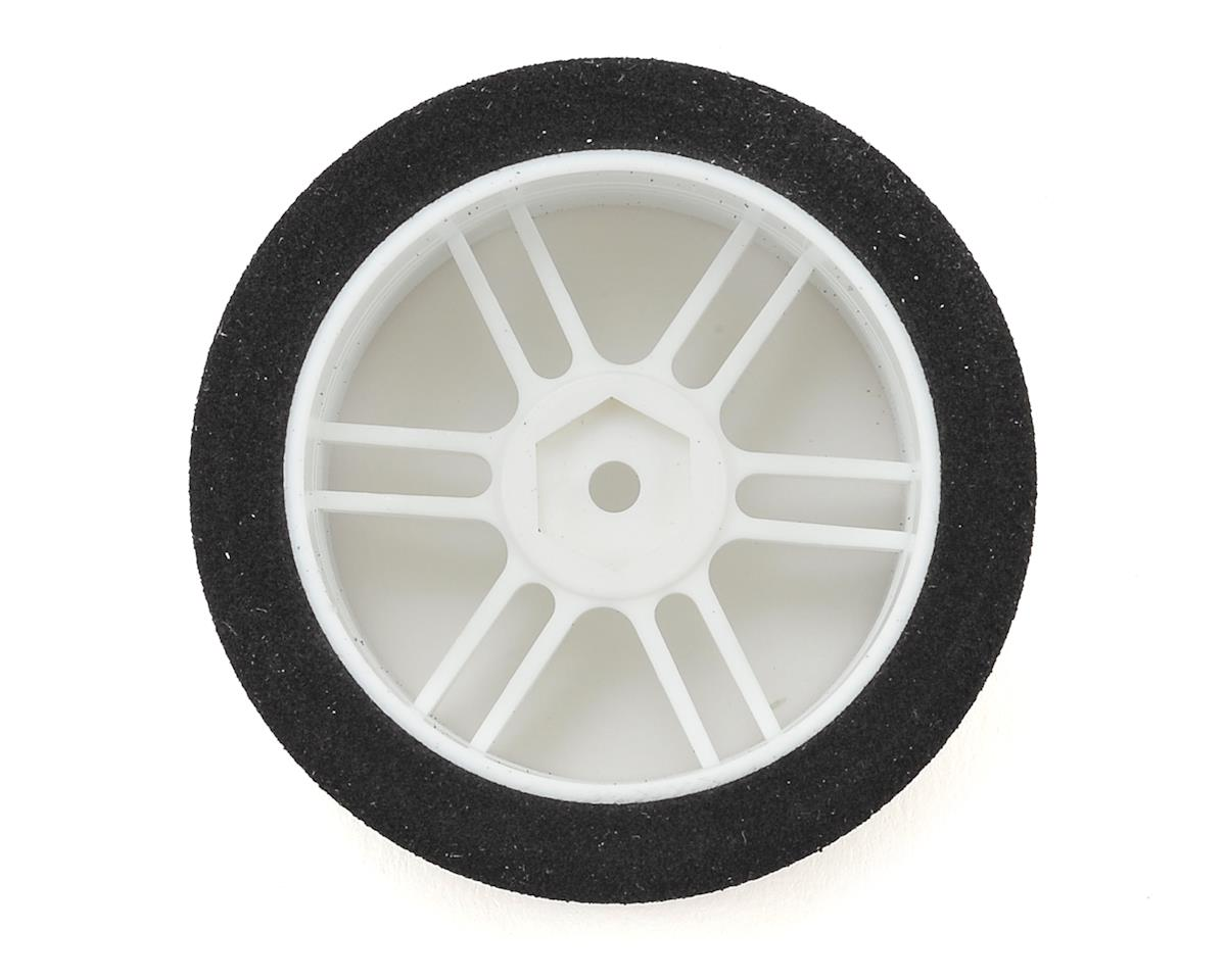 Xceed RC ITA Wide Front Tire-Rim (White) (2) (35 Shore)