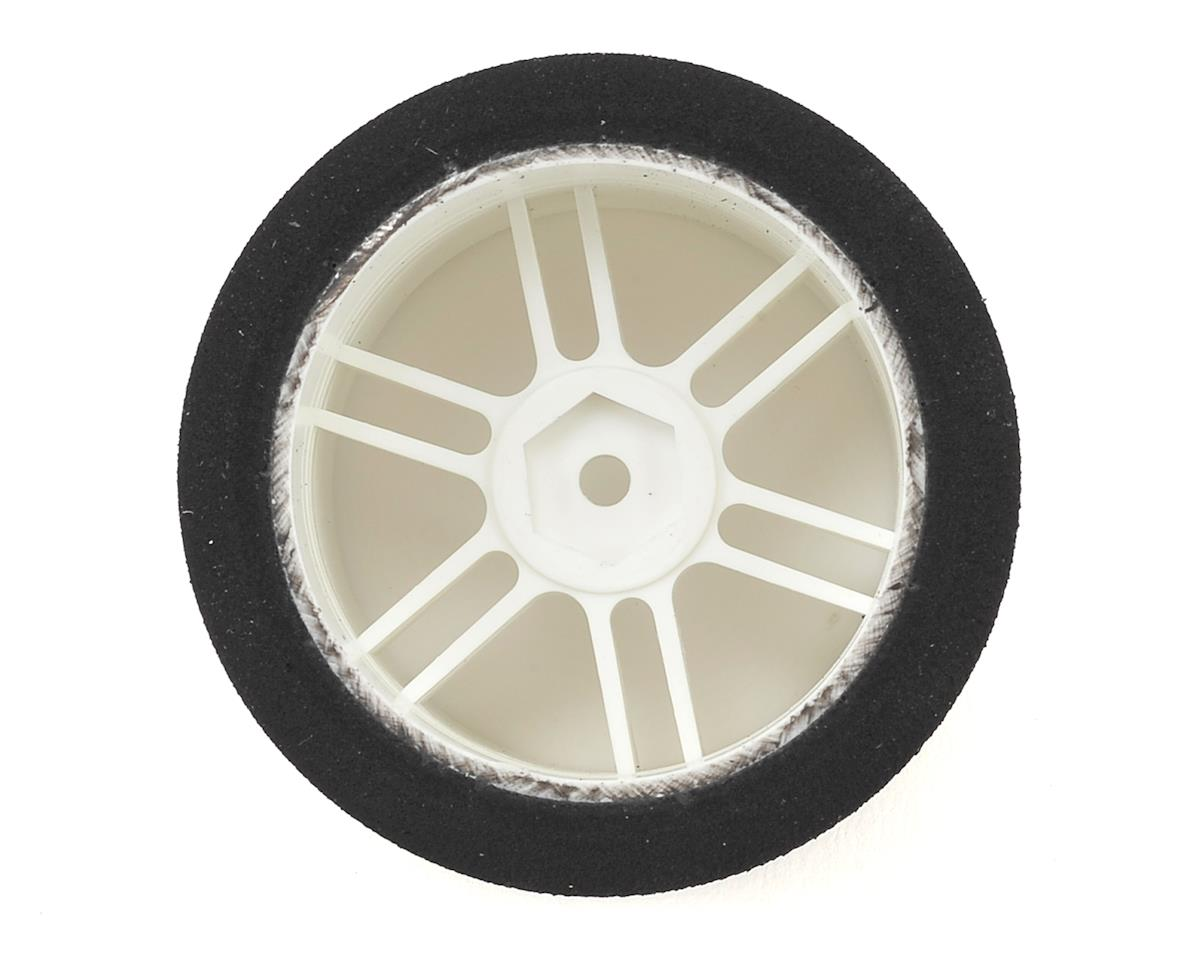 Xceed RC ITA Wide Rear Tire-Rim (White) (2) (35 Shore)