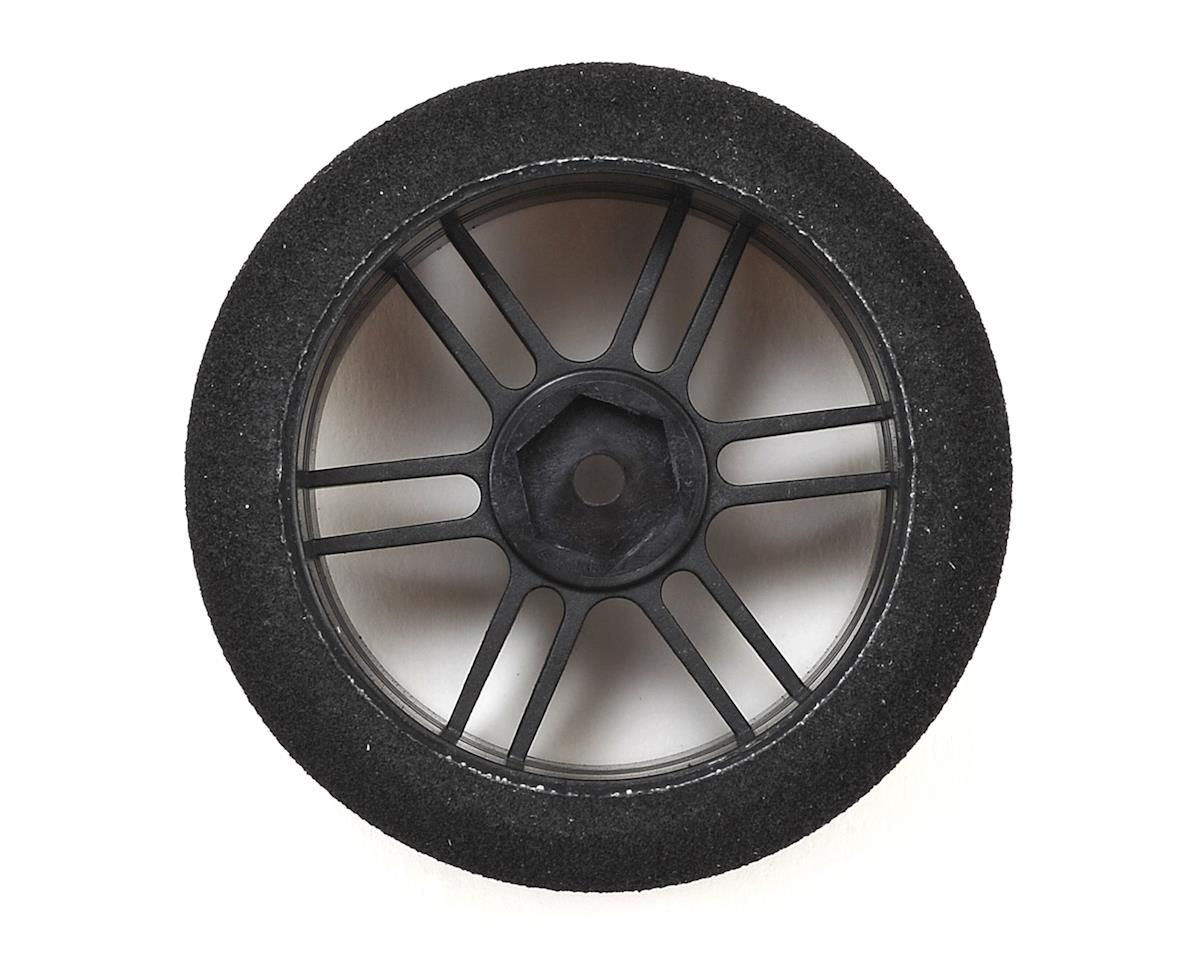 Xceed RC ITA Wide Front Tire-Rim (Carbon Black) (2) (35 Shore)