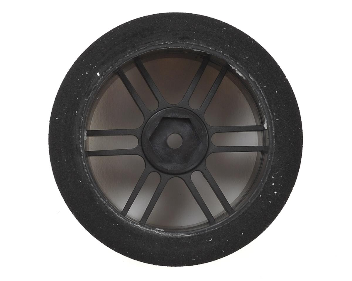 Xceed RC ITA Wide Rear Tire-Rim (Carbon Black) (2) (35 Shore)