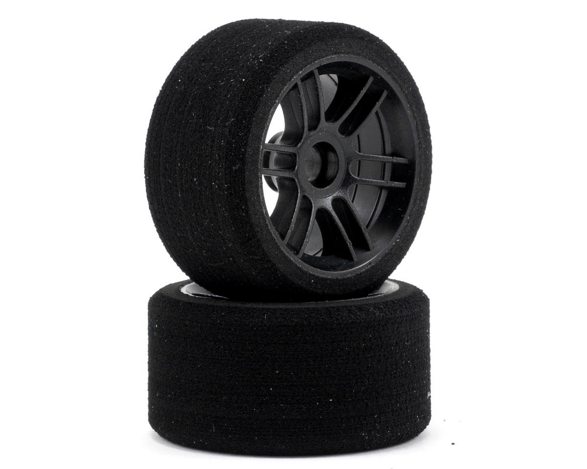 "Xceed RC ""Enneti"" 1/12 Carbon Carpet Front Tires (2) (Carbon Black)"