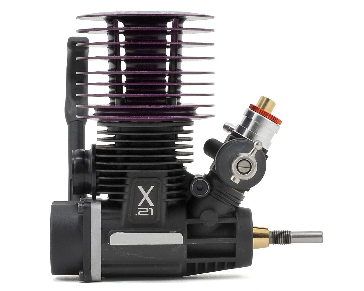 X-Act Performance .21 Sportive 3-Port Nitro Engine w/Pull Start (Standard Plug)