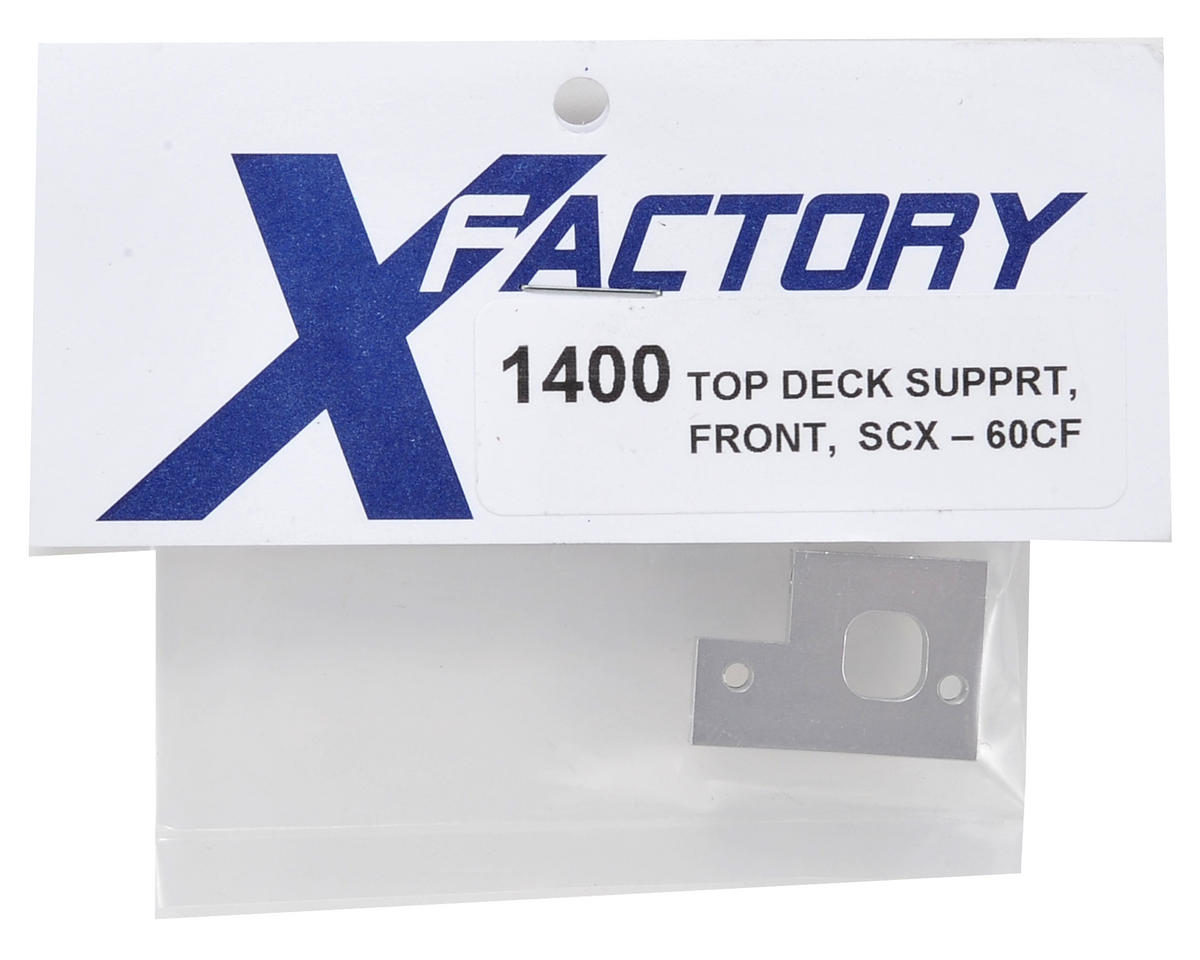 X Factory Aluminum Front Top Deck Support