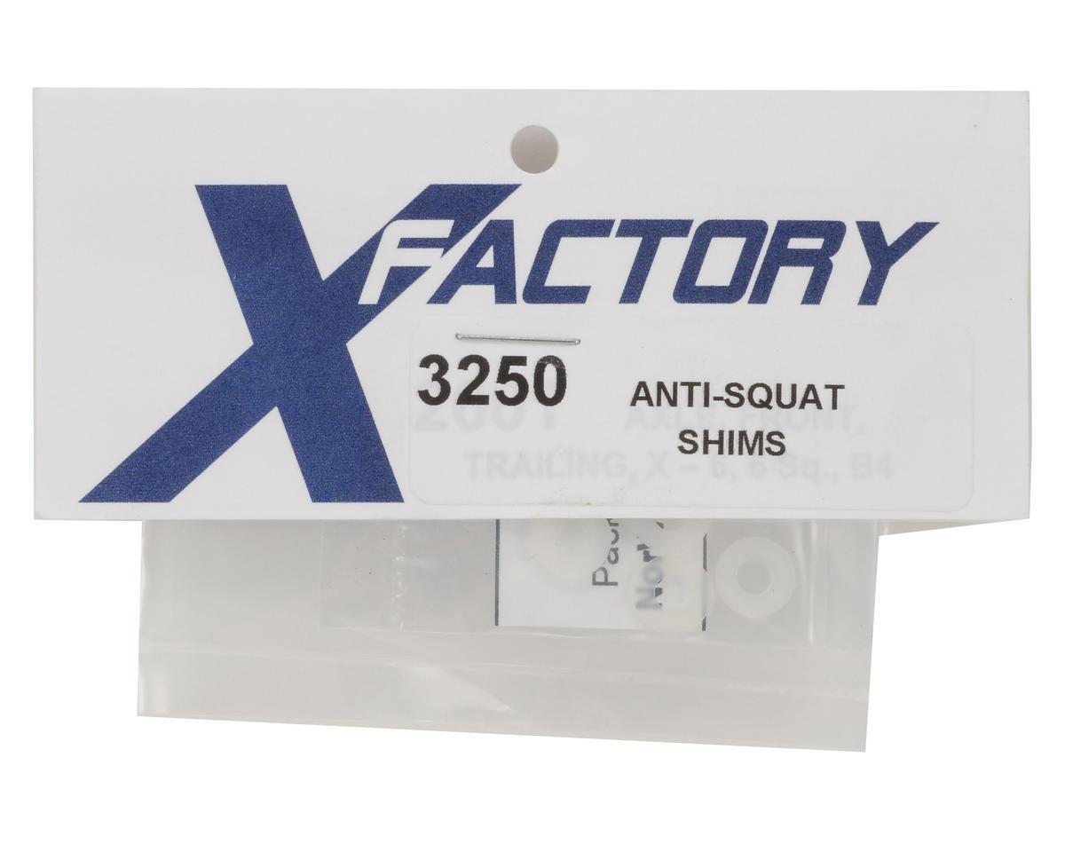 X Factory Anti-Squat Shim Set (6)