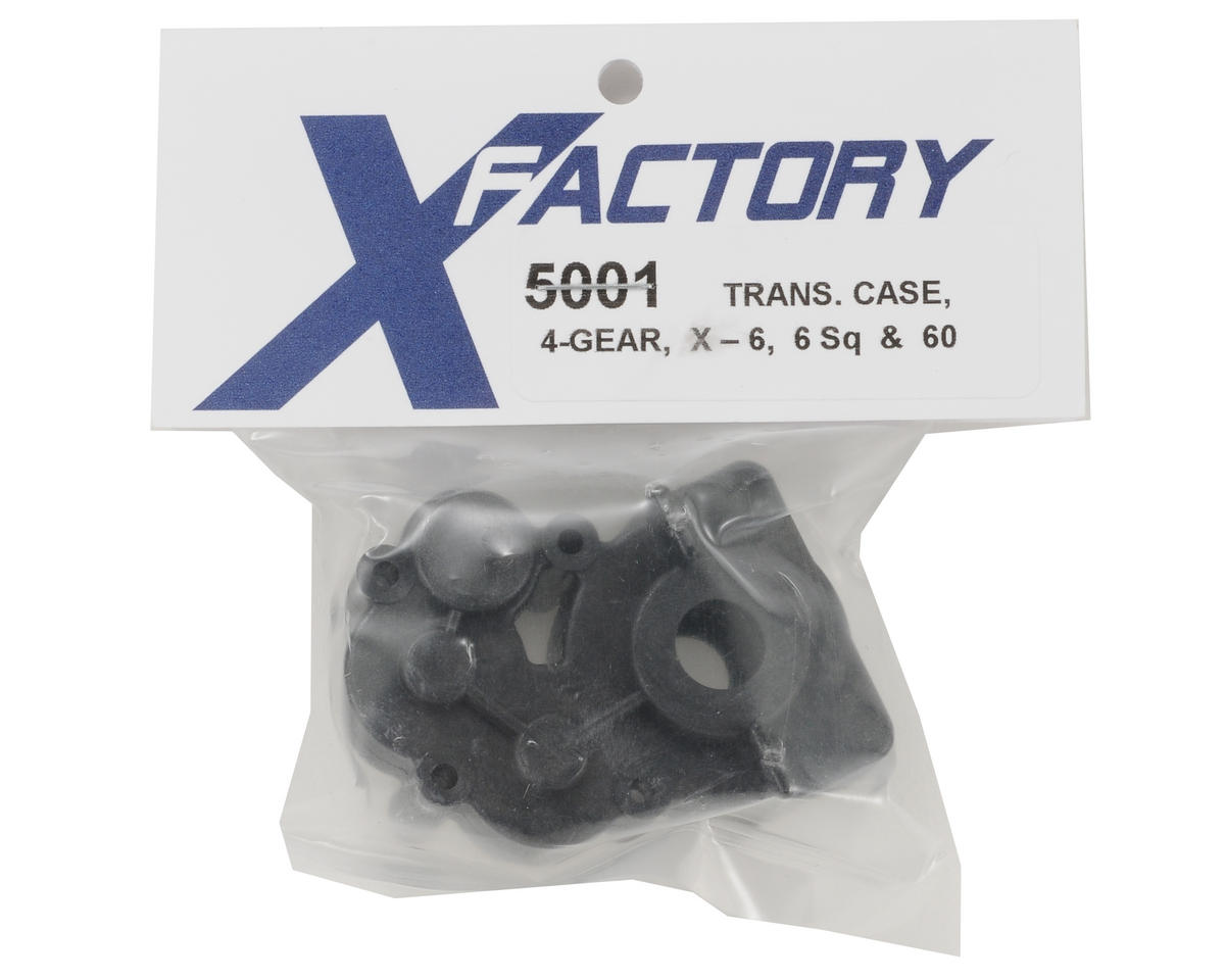 X Factory 4-Gear Transmission Case