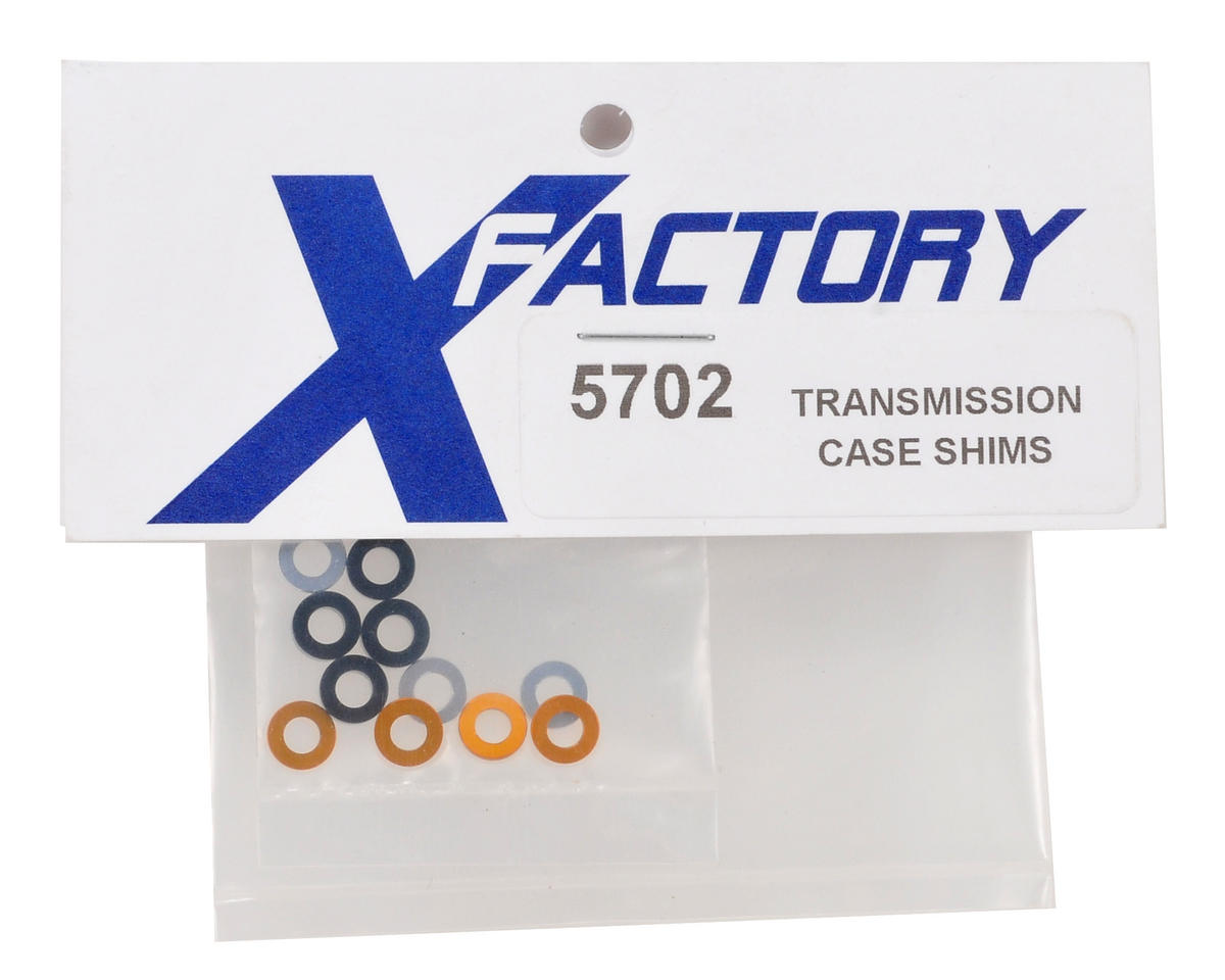X Factory Transmission Case Shim Set (12)