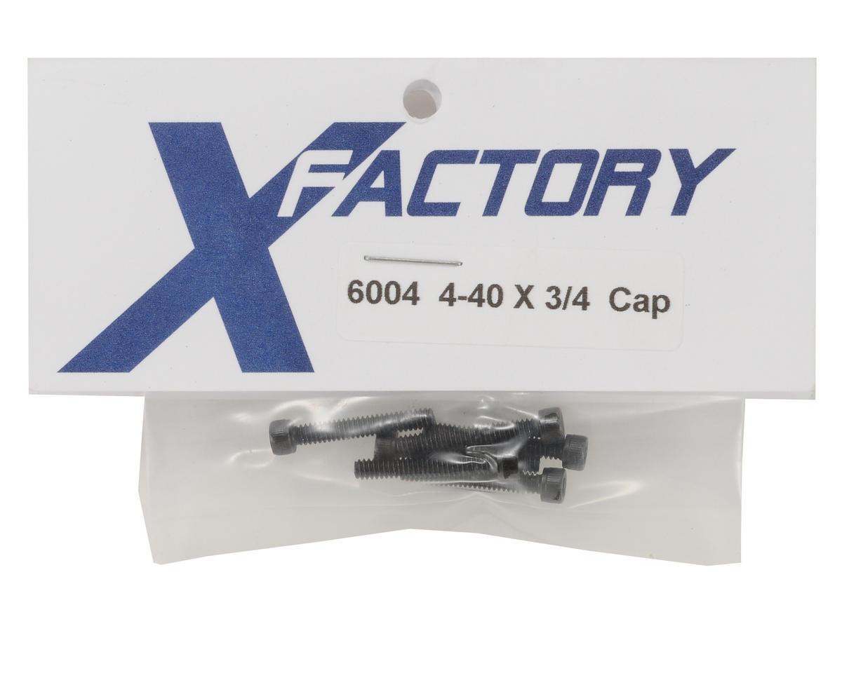 4-40x3/4 Cap Head Screw (6) by X Factory