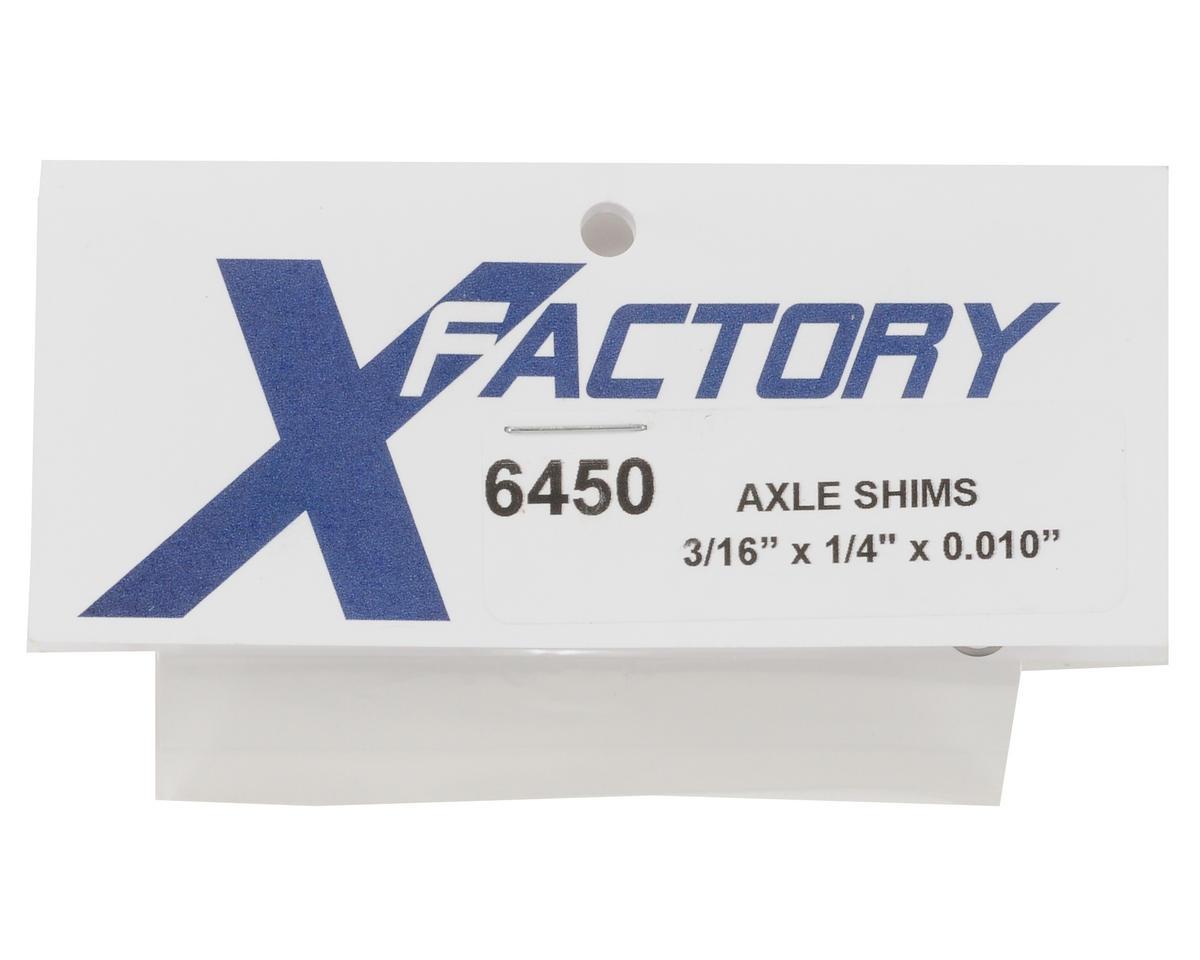 "X Factory 3/16x1/4x.010"" Shim Set (4)"