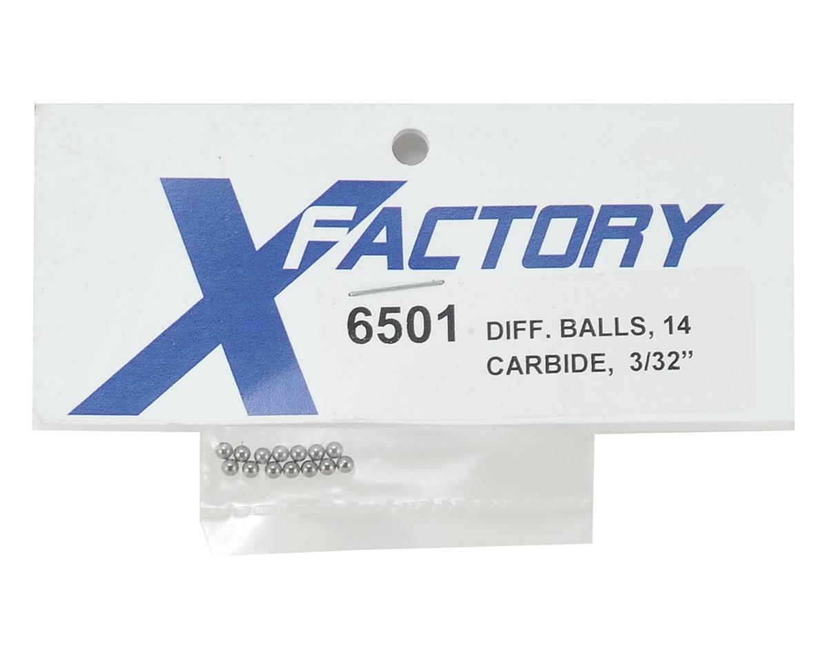 "X Factory 3/32"" Carbide Differential Balls (14)"