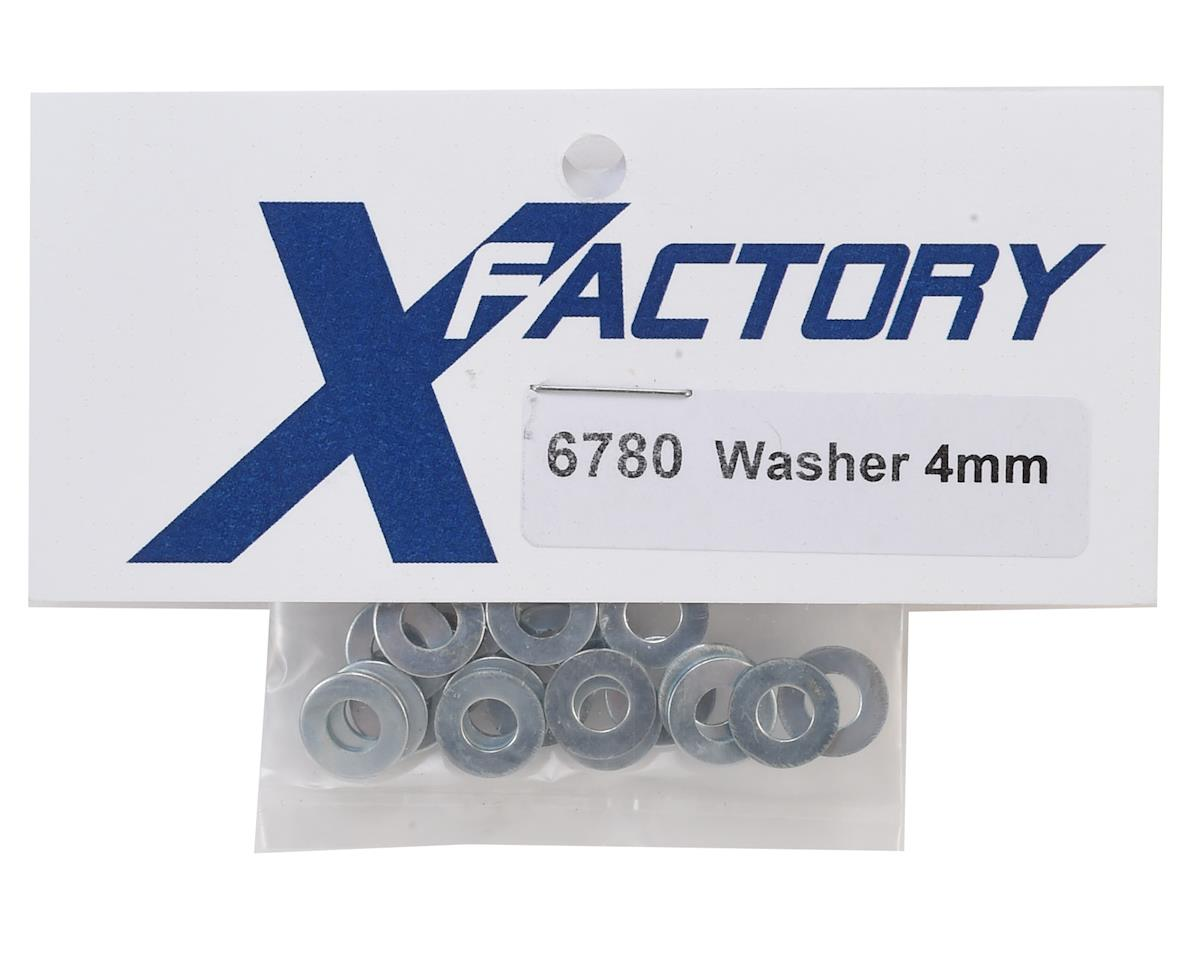 X Factory 4mm Flat Washer (20)