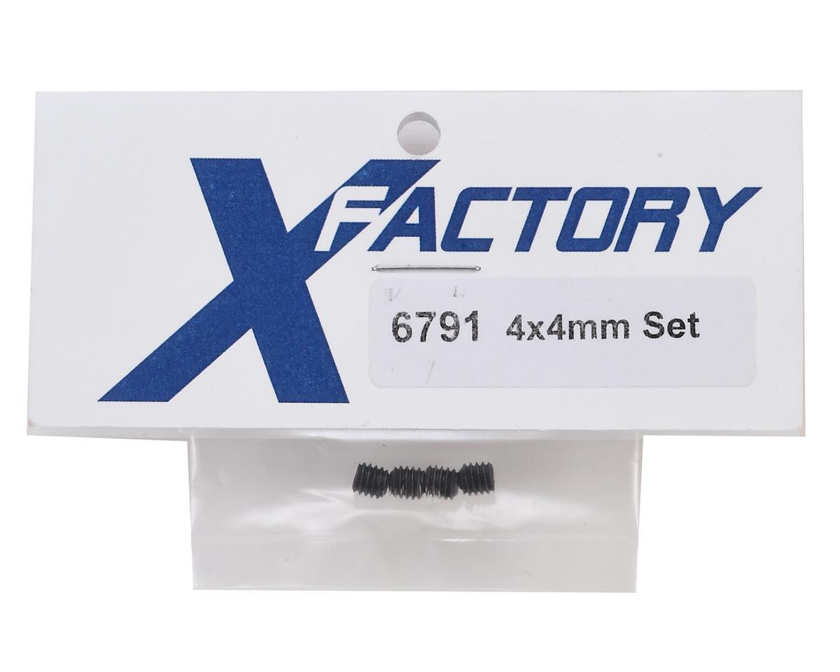 X Factory 4x4mm Hex Set Screw (4)