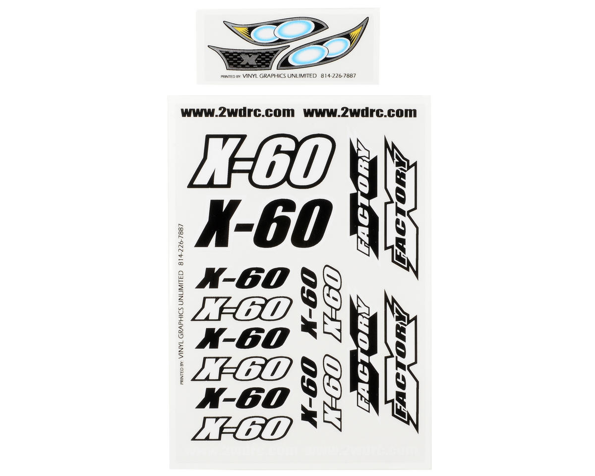 X Factory X-60 Decal Sheet