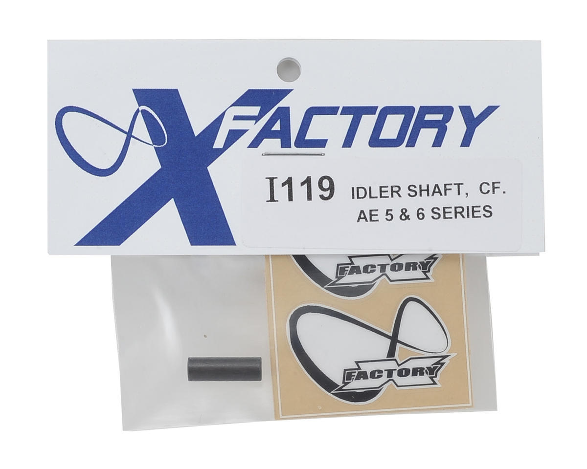 "X Factory ""Infinity"" Associated B5/B6 Carbon Fiber Idler Shaft"
