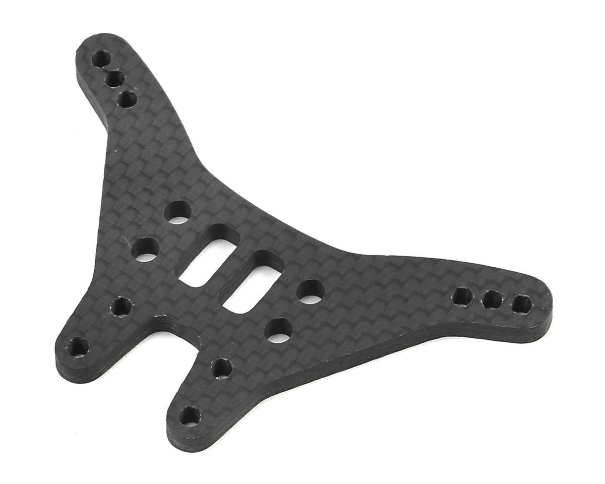 "X Factory ""Infinity"" B6 Carbon Fiber Rear Shock Tower (Tall)"