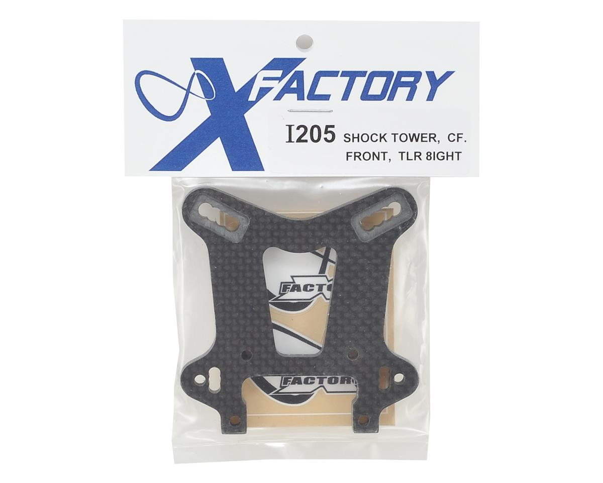 "X Factory ""Infinity"" 8IGHT 4.0 Carbon Fiber Front Shock Tower"