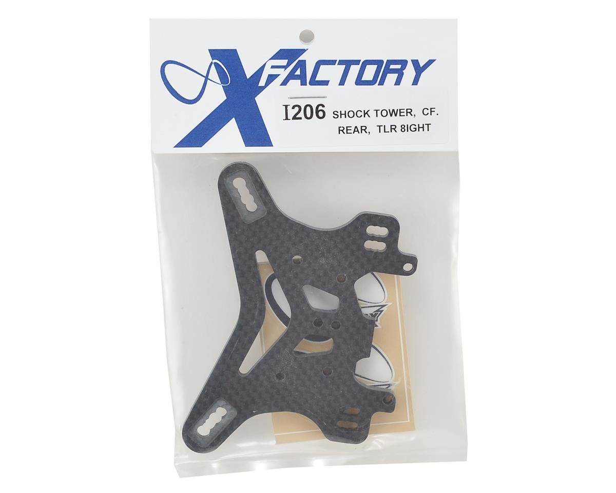 "X Factory ""Infinity"" 8IGHT 4.0 Carbon Fiber Rear Shock Tower"