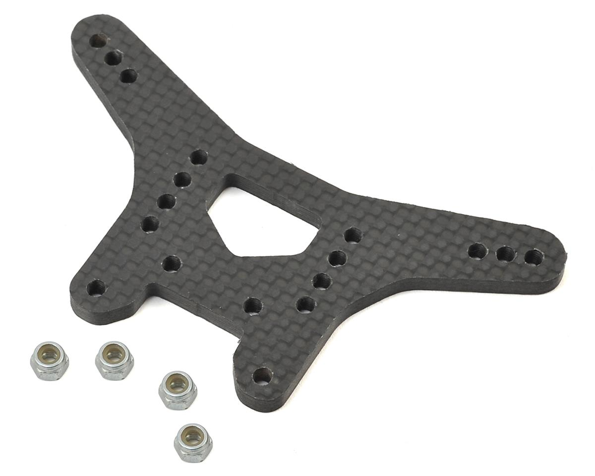 X Factory Infinity XRAY XB2 Dirt Carbon Fiber Rear Shock Tower