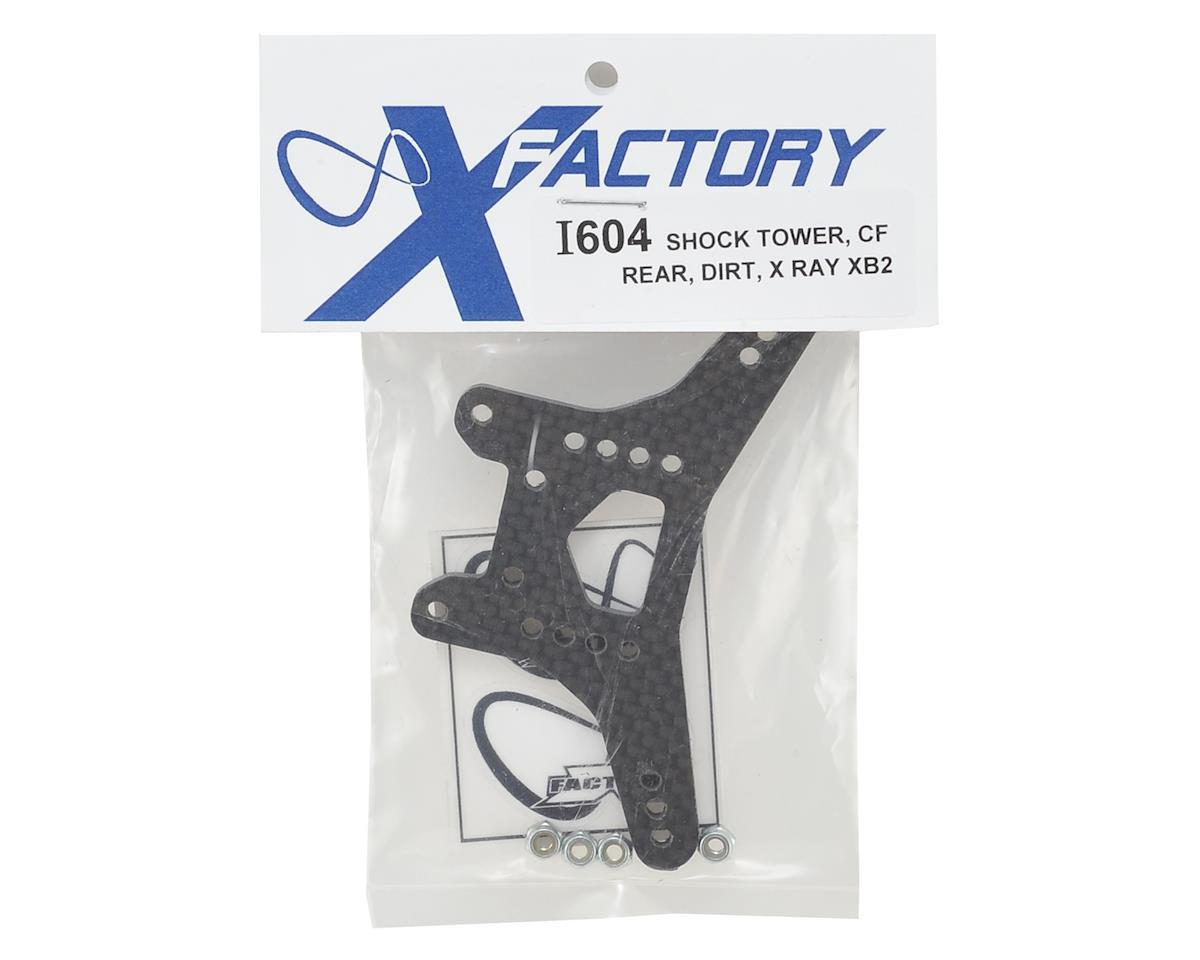 Infinity XRAY XB2 Dirt Carbon Fiber Rear Shock Tower by X Factory
