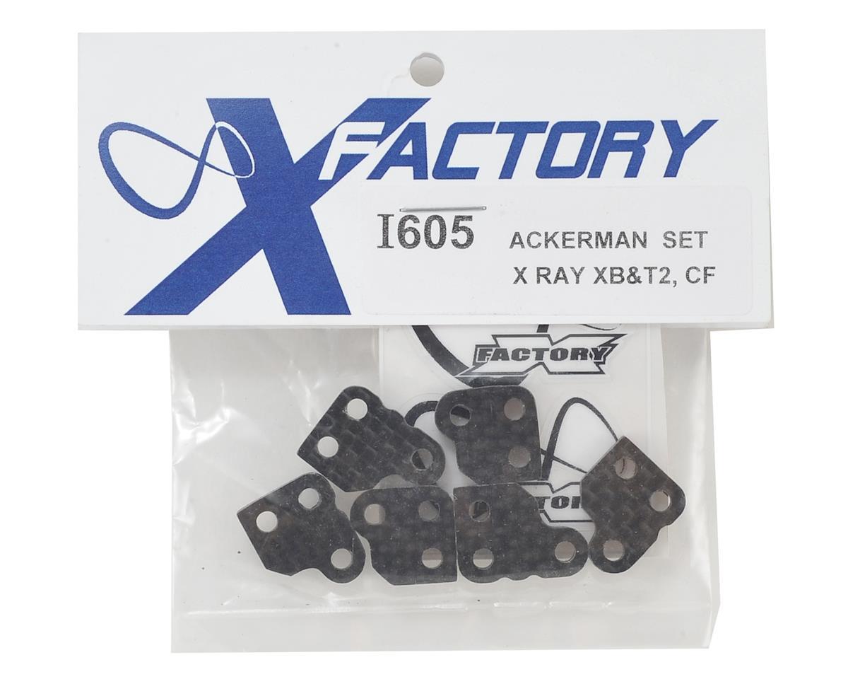 """X Factory """"Infinity"""" XRAY XB2 Carbon Fiber Plates (6)"""
